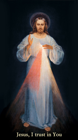 Divine Mercy Image Vilnius