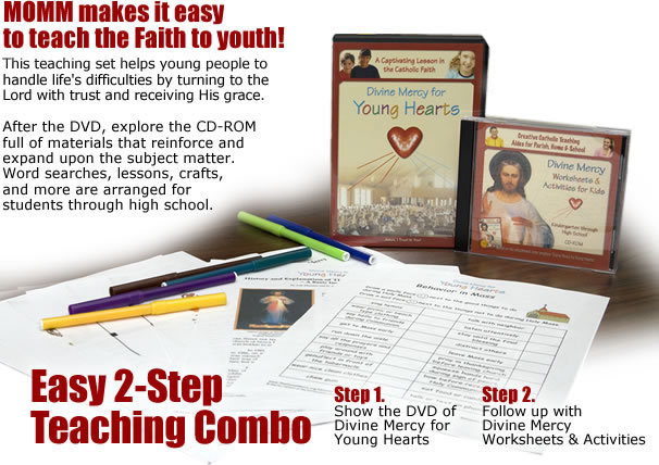 MOMM makes it easy to teach the Faith to youth!