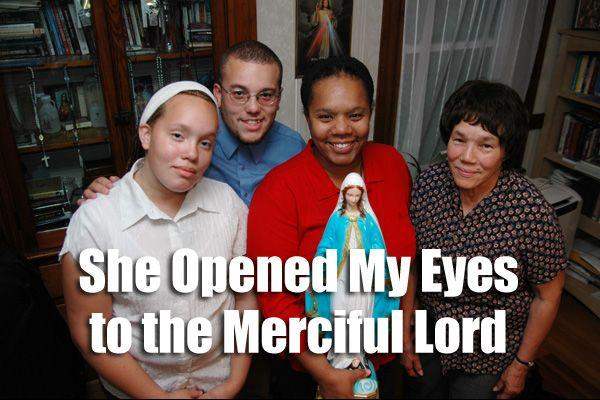 She Opened My Eyes to the Merciful Lord | The Divine Mercy