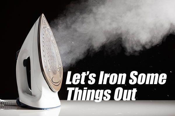 Let's Iron Some Things Out | The Divine Mercy